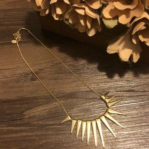 💎 [Express] Gold Spiked Necklace